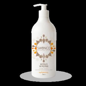 naturalne mydło w płynie cytrusowe